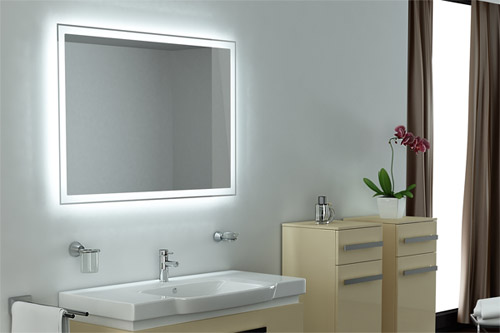 Зеркало для ванны с подсветкой