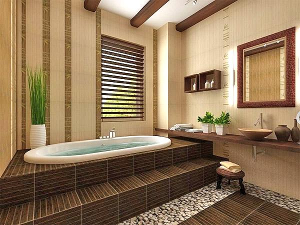 Ванная в этно-стиле