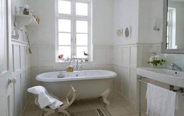 Ванная в стиле прованс (фото)