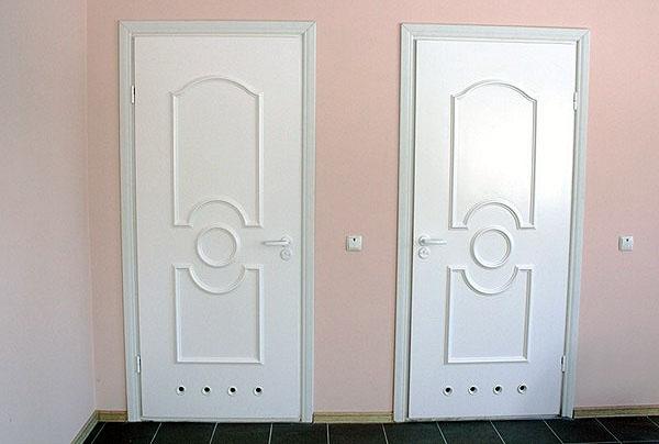 пластиковые двери в ванную и туалет в