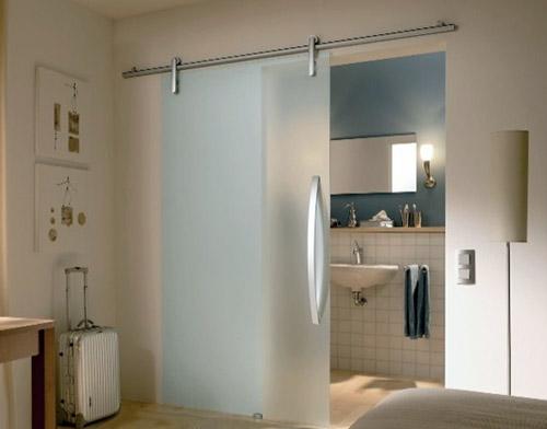стеклянная дверь для ванной комнаты