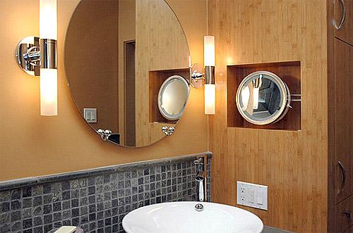 Свет в ванной комнате: принципы построения