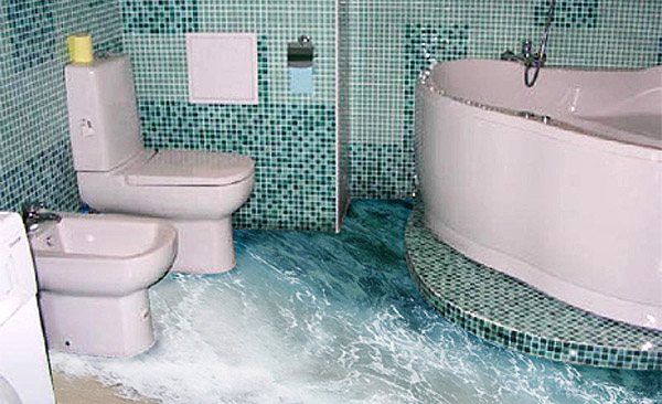 Ванная комната 3д фото