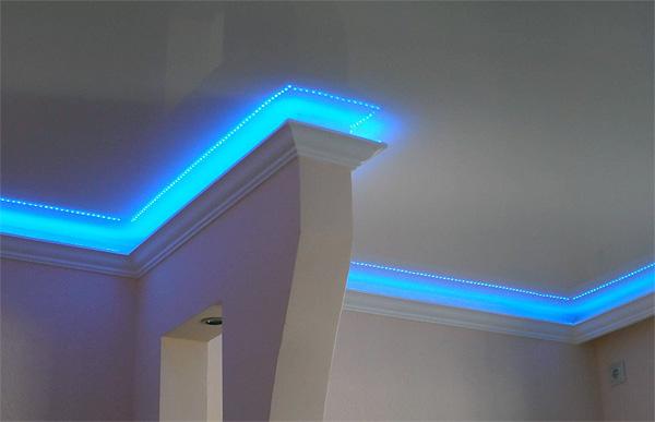 LED подсветка натяжного
