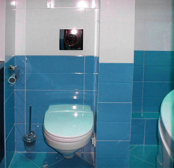 Как скрыть трубы в ванной комнате
