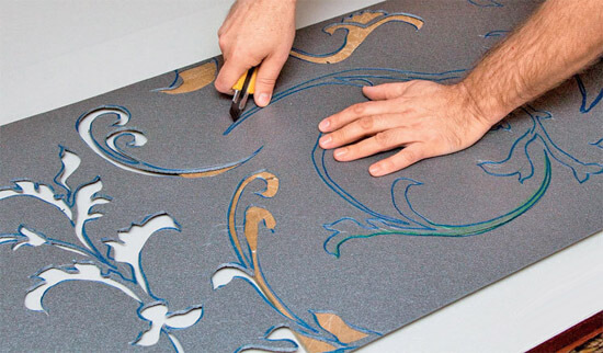 Рисунки на плитках своими руками