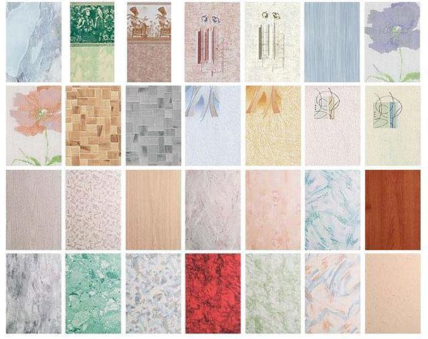 Широкий выбор расцветок панелей ПВХ