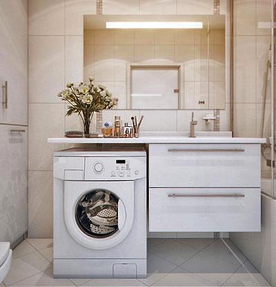 Стиральная машина в ванной (фото)